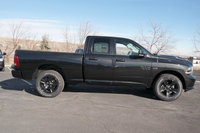 2018 Ram 1500 Quad Cab 4x4, Pickup #18245 - photo 4