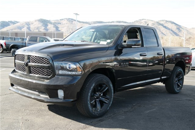 2018 Ram 1500 Quad Cab 4x4, Pickup #18245 - photo 1