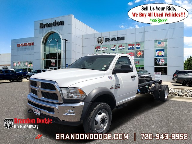 2018 Ram 5500 Regular Cab DRW 4x4,  Cab Chassis #R2428 - photo 13