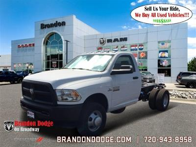 2018 Ram 3500 Regular Cab DRW 4x4,  Cab Chassis #R2736 - photo 1