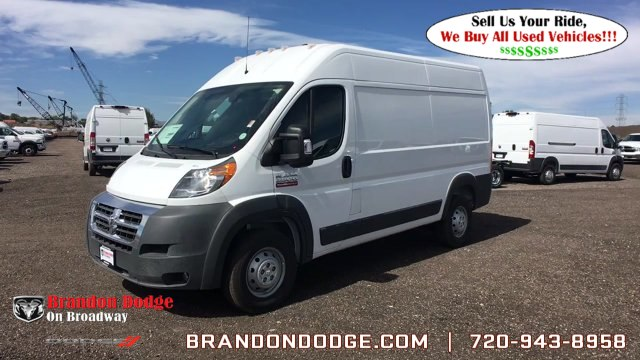 2018 ProMaster 2500 High Roof FWD,  Empty Cargo Van #R2957 - photo 5