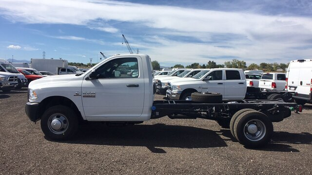 2018 Ram 3500 Regular Cab DRW 4x4,  Cab Chassis #R3037 - photo 2