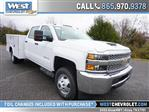2019 Silverado 3500 Crew Cab DRW 4x2,  Reading Service Body #162651 - photo 1