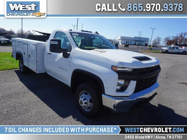 2020 Chevrolet Silverado 3500 Regular Cab DRW 4x2, Monroe Service Body #335880 - photo 1