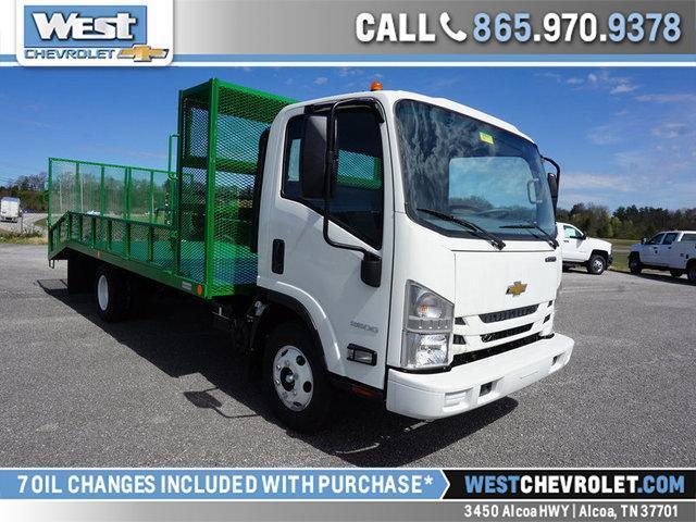 2018 LCF 3500 Regular Cab 4x2,  Womack Truck Body Dovetail Landscape #809451 - photo 1
