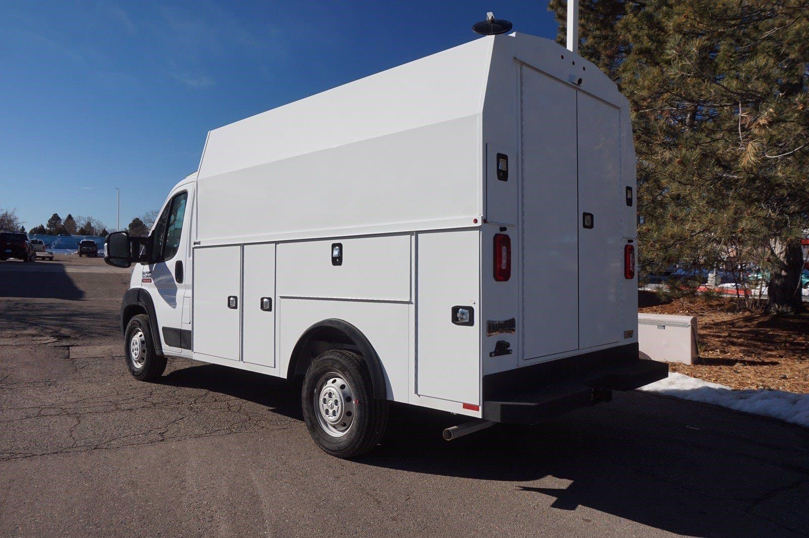 2021 Ram ProMaster 3500 FWD, Service Utility Van #6674X - photo 1