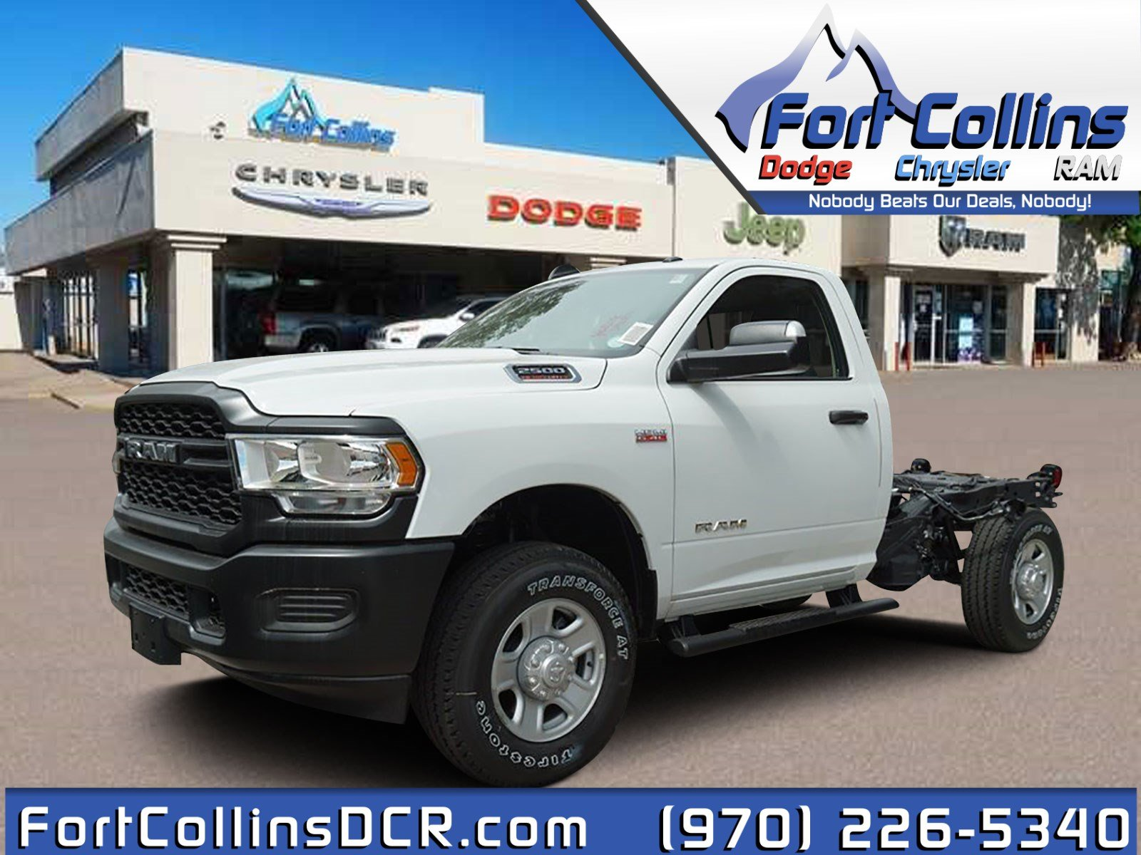 2019 Ram 2500 Regular Cab 4x4, Cab Chassis #6716N - photo 1