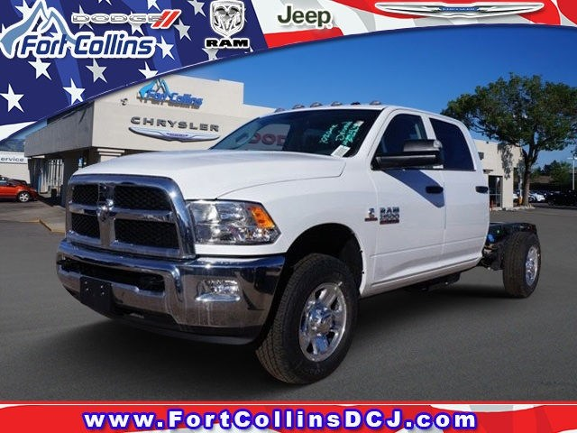 2018 Ram 3500 Crew Cab 4x4, CM Truck Beds RD Model Platform Body #6717K - photo 1
