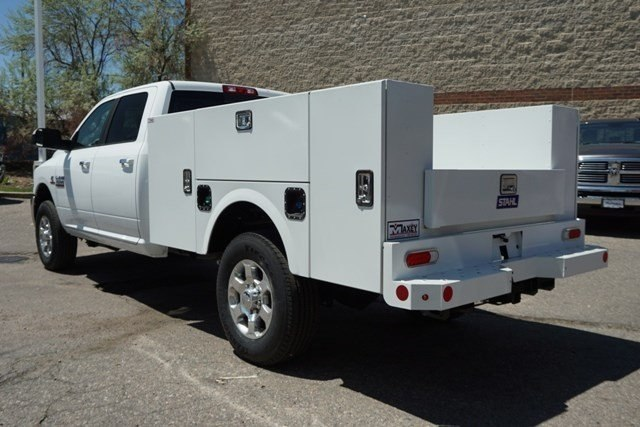 2018 Ram 3500 Crew Cab 4x4,  Stahl Service Body #6753K - photo 2