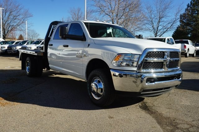 2018 Ram 3500 Crew Cab DRW 4x4,  Bedrock Platform Body #6783L - photo 4