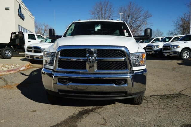 2018 Ram 3500 Crew Cab DRW 4x4,  Bedrock Platform Body #6783L - photo 5