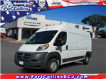 2018 ProMaster 2500 High Roof 4x2,  Empty Cargo Van #6858K - photo 1