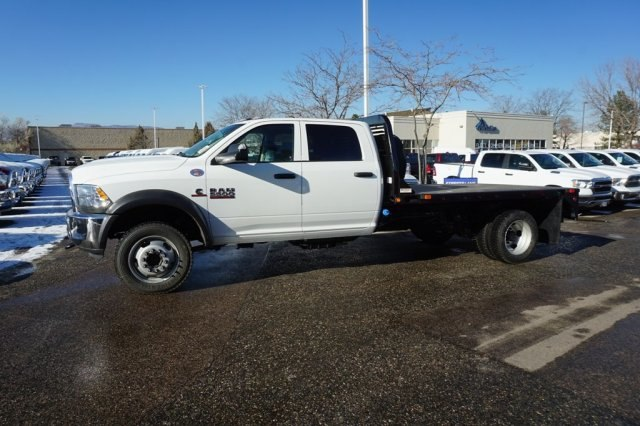 2018 Ram 5500 Crew Cab DRW 4x4,  Bedrock Platform Body #6974L - photo 3