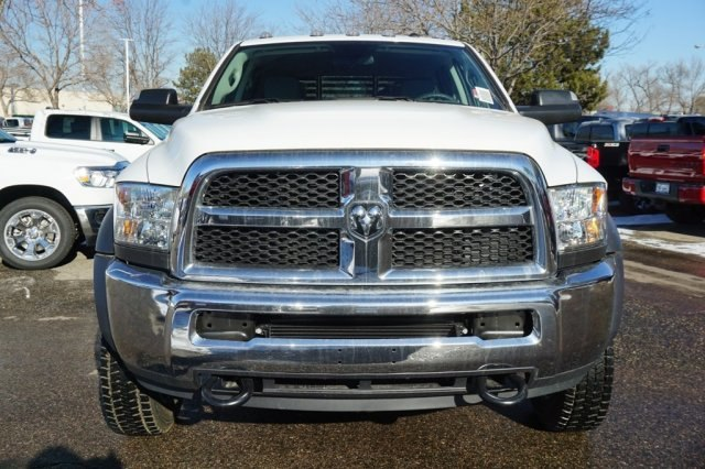 2018 Ram 5500 Crew Cab DRW 4x4,  Bedrock Platform Body #6974L - photo 5