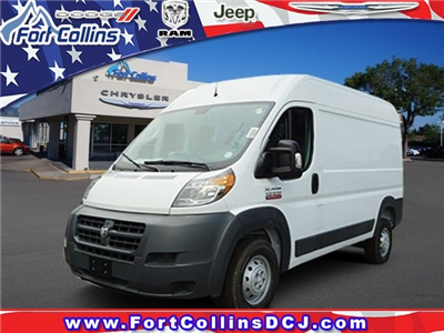 2018 ProMaster 1500 High Roof 4x2,  Empty Cargo Van #6977K - photo 1
