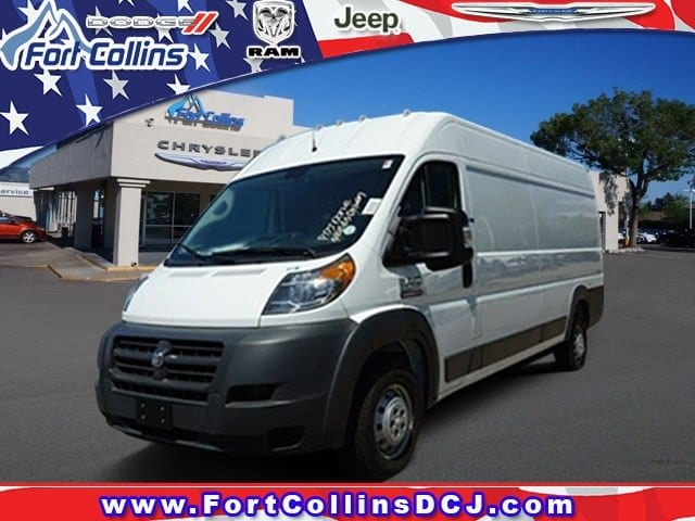 2018 ProMaster 3500 High Roof FWD,  Empty Cargo Van #6983K - photo 1