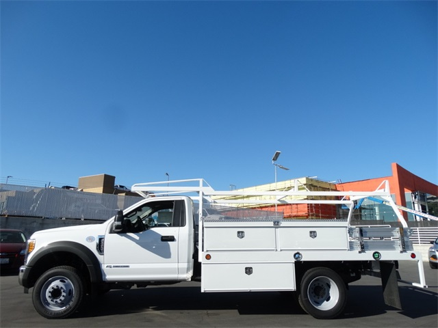 2017 F-450 Regular Cab DRW,  Scelzi Contractor Body #HDA08908 - photo 3
