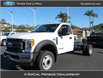 2017 F-550 Regular Cab DRW Cab Chassis #HEB22572 - photo 1