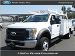 2017 F-550 Regular Cab DRW, Scelzi Combo Body #HEB38073 - photo 1