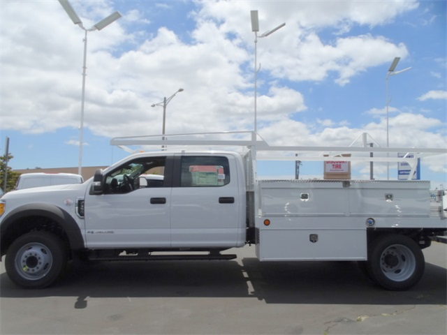 2017 F-550 Crew Cab DRW, Scelzi Contractor Body #HEC82824 - photo 3