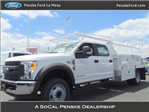 2017 F-550 Crew Cab DRW, Scelzi Contractor Body #HEC82824 - photo 1