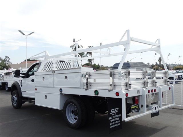 2017 F-550 Regular Cab DRW, Scelzi Contractor Flatbed Contractor Body #HEE29460 - photo 2