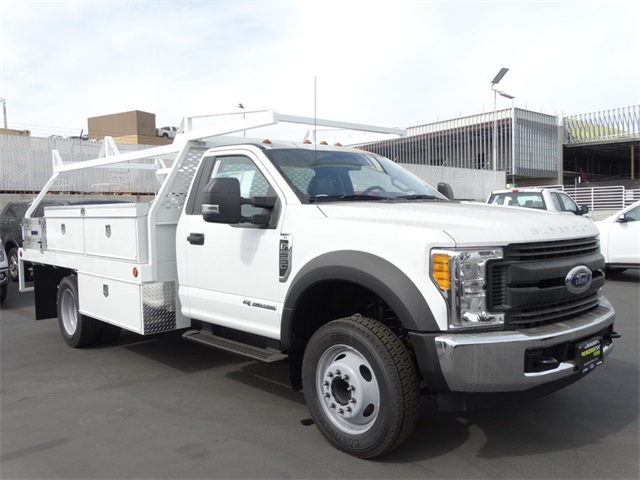2017 F-550 Regular Cab DRW, Scelzi Contractor Body #HEE29460 - photo 21