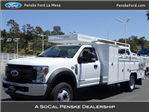 2018 F-550 Regular Cab DRW, Scelzi Combo Body #JEB75165 - photo 1