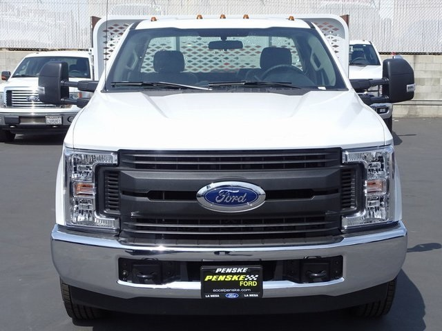2018 F-350 Regular Cab DRW 4x2,  Scelzi WFB Stake Bed #JEB93022 - photo 8