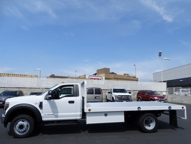 2018 F-450 Regular Cab DRW, Scelzi Platform Body #JEB99181 - photo 3