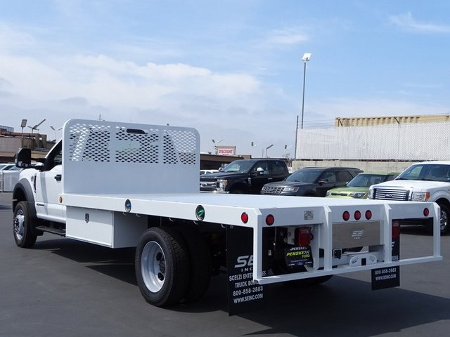 2018 F-450 Regular Cab DRW,  Scelzi Platform Body #JEB99181 - photo 2