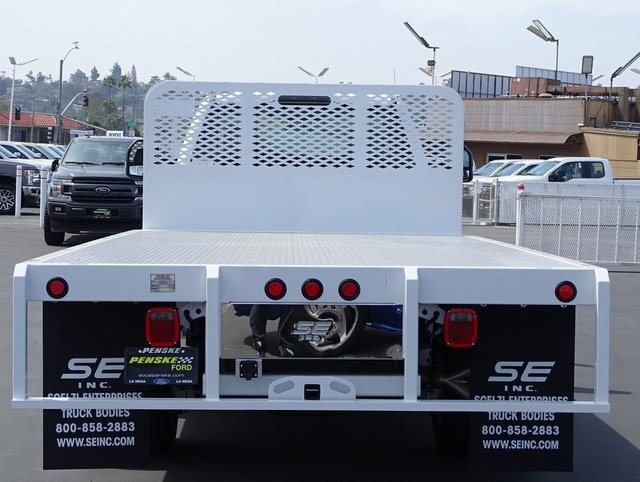 2018 F-450 Regular Cab DRW, Scelzi Platform Body #JEB99181 - photo 4