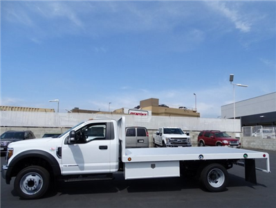 2018 F-450 Regular Cab DRW 4x2,  Scelzi WFB Platform Body #JEB99181 - photo 3