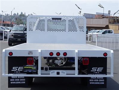 2018 F-450 Regular Cab DRW 4x2,  Scelzi WFB Platform Body #JEB99181 - photo 4
