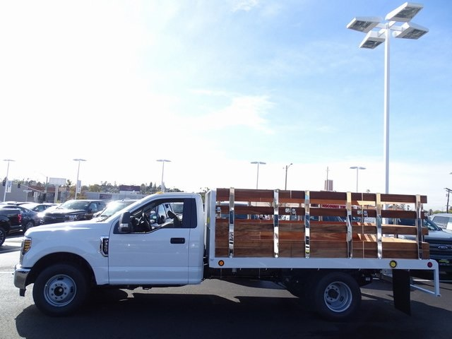 2019 F-350 Regular Cab DRW 4x2,  Scelzi Stake Bed #KED04106 - photo 2