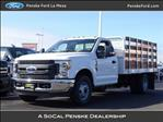 2019 F-350 Regular Cab DRW 4x2,  Scelzi Stake Bed #KED04106 - photo 1
