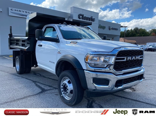 2019 Ram 5500 Regular Cab DRW 4x4, Rugby Dump Body #D11581 - photo 1
