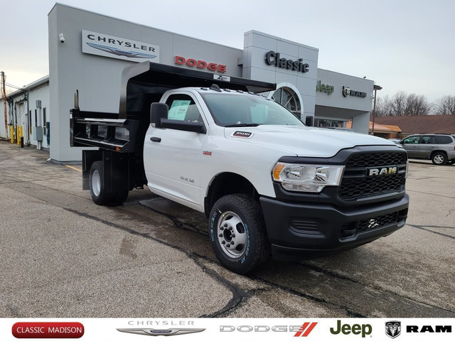 2020 Ram 3500 Regular Cab DRW 4x4, Rugby Dump Body #D12274 - photo 1