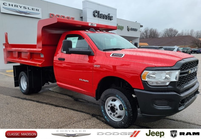 2020 Ram 3500 Regular Cab DRW 4x4, Rugby Dump Body #D12297 - photo 1