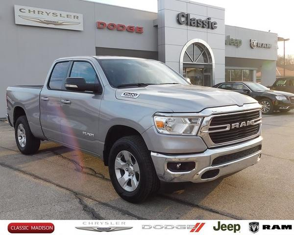 2021 Ram 1500 Quad Cab 4x4, Pickup #D12396 - photo 1