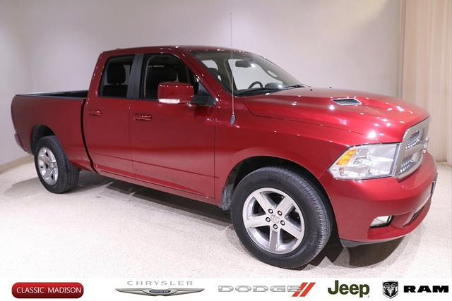 2012 Ram 1500 Quad Cab 4x4, Pickup #D310 - photo 1