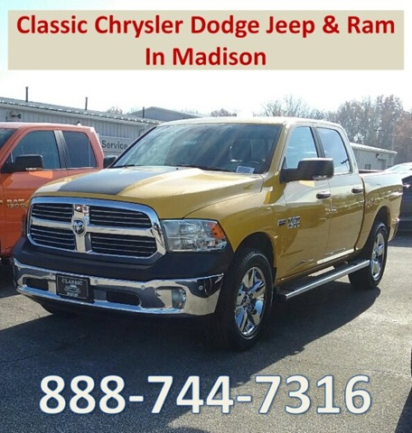 2017 Ram 1500 Crew Cab 4x4 Pickup #E18932 - photo 1
