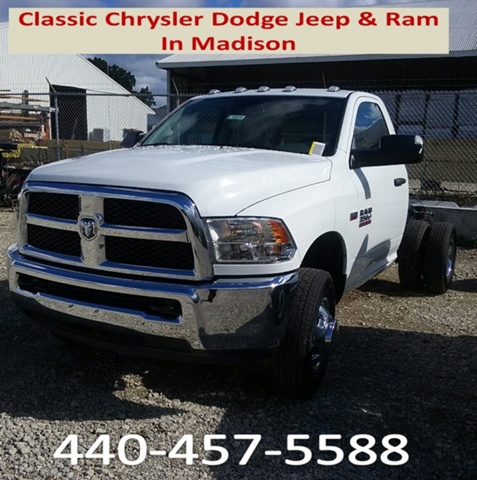 2017 Ram 3500 Regular Cab DRW 4x4, Cab Chassis #E18935 - photo 1