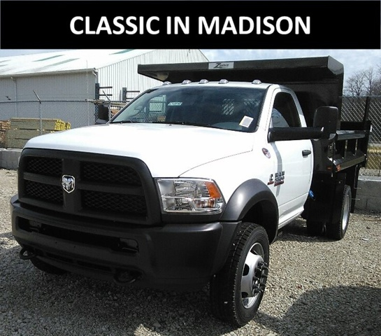 2017 Ram 5500 Regular Cab DRW 4x4, Rugby Dump Body #E19540 - photo 1