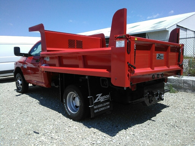 2017 Ram 3500 Regular Cab DRW 4x4, Rugby Dump Body #E19702 - photo 2