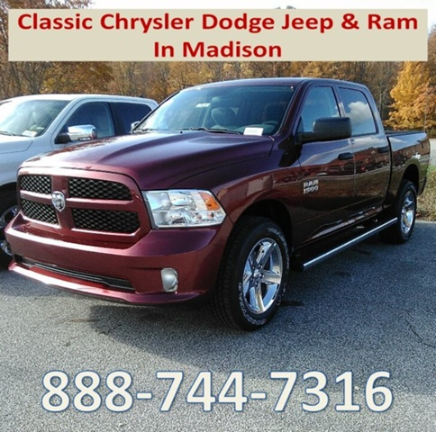 2018 Ram 1500 Crew Cab 4x4,  Pickup #E20251 - photo 1