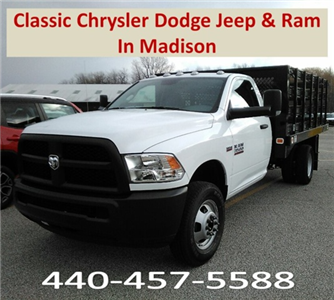 2017 Ram 3500 Regular Cab DRW, Knapheide Value-Master X Stake Bed #E20322 - photo 1
