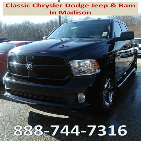 2018 Ram 1500 Crew Cab 4x4, Pickup #E20523 - photo 1