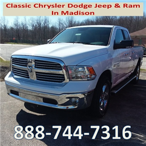 2018 Ram 1500 Quad Cab 4x4, Pickup #E20605 - photo 1