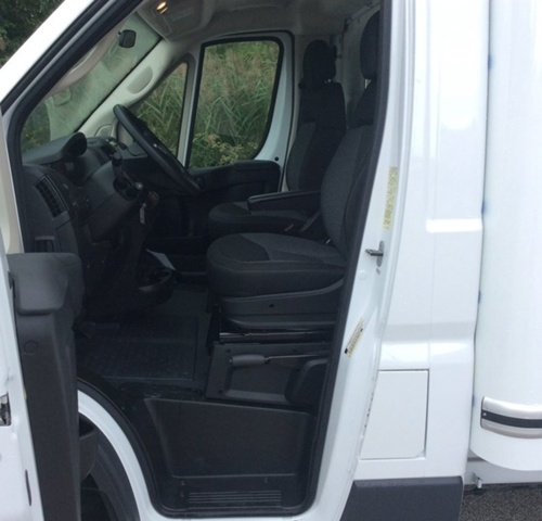2018 ProMaster 3500 Standard Roof FWD,  Unicell Cutaway Van #E21310 - photo 11